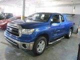 2010 Blue Streak Metallic Toyota Tundra SR5 Double Cab 4x4 #63319596