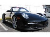 2008 Black Porsche 911 Turbo Cabriolet #63319914