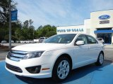 2011 White Suede Ford Fusion SE V6 #63319566