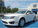 2011 White Suede Ford Fusion SE V6 #63319565