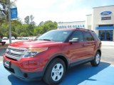 2013 Ruby Red Metallic Ford Explorer FWD #63319557
