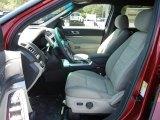 2013 Ford Explorer FWD Medium Light Stone Interior