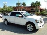 2011 White Platinum Metallic Tri-Coat Ford F150 Limited SuperCrew 4x4 #63319540