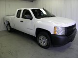 2008 Summit White Chevrolet Silverado 1500 Work Truck Extended Cab #63319881