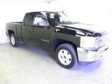 2012 Black Chevrolet Silverado 1500 LT Extended Cab 4x4 #63319879