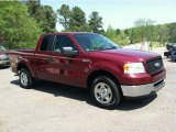 2006 Dark Toreador Red Metallic Ford F150 XLT SuperCab #63319533