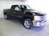 2012 Black Chevrolet Silverado 1500 LT Extended Cab #63319872