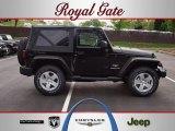 2012 Black Jeep Wrangler Sahara 4x4 #63320157