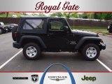 2012 Black Jeep Wrangler Sport 4x4 #63320156