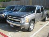 2007 Graystone Metallic Chevrolet Silverado 1500 LTZ Crew Cab 4x4 #63319854
