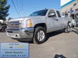 2012 Silver Ice Metallic Chevrolet Silverado 1500 LT Extended Cab 4x4 #63319497