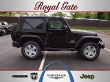 2012 Black Jeep Wrangler Sahara 4x4 #63319463