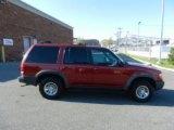 2000 Toreador Red Metallic Ford Explorer XLS 4x4 #63320099