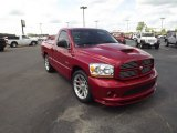 2006 Inferno Red Crystal Pearl Dodge Ram 1500 SRT-10 Regular Cab #63319778