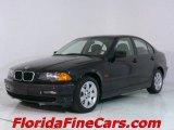 2001 Jet Black BMW 3 Series 325i Sedan #544113