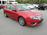 2010 Red Candy Metallic Ford Fusion SEL #63319753
