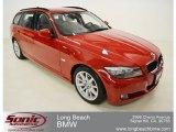 2011 Crimson Red BMW 3 Series 328i Sports Wagon #63319746