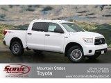 2012 Super White Toyota Tundra TRD Rock Warrior CrewMax 4x4 #63319399
