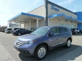 2012 Twilight Blue Metallic Honda CR-V EX 4WD #63320054