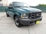 2002 Ford F250 Super Duty Fleet Green