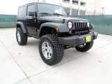 2010 Black Jeep Wrangler Rubicon 4x4 #63319728