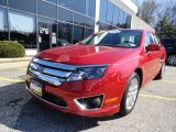 2010 Red Candy Metallic Ford Fusion SEL V6 #63319993