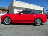 2013 Race Red Ford Mustang V6 Premium Convertible #63319674