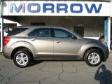 2010 Mocha Steel Metallic Chevrolet Equinox LS AWD #63383872