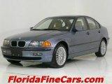 2001 Steel Blue Metallic BMW 3 Series 325xi Sedan #544060
