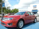 2010 Sangria Red Metallic Ford Fusion SEL V6 #63383847