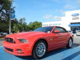 2013 Race Red Ford Mustang GT Premium Convertible #63383846