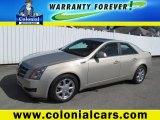 2009 Gold Mist Cadillac CTS 4 AWD Sedan #63384538