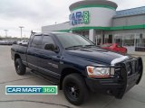 2006 Patriot Blue Pearl Dodge Ram 1500 SLT Quad Cab 4x4 #63384204