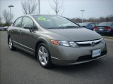 2006 Galaxy Gray Metallic Honda Civic EX Sedan #6321215