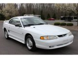 1995 Ford Mustang Crystal White