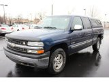2000 Indigo Blue Metallic Chevrolet Silverado 1500 LT Extended Cab 4x4 #63384511