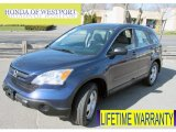 2009 Royal Blue Pearl Honda CR-V LX 4WD #63383815