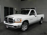 2006 Bright White Dodge Ram 1500 SLT Regular Cab #6320707