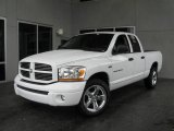 2006 Bright White Dodge Ram 1500 Sport Quad Cab #6320709