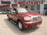 2007 Salsa Red Pearl Toyota Tundra Limited CrewMax #63383767