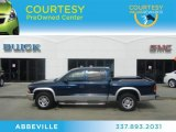 2004 Patriot Blue Pearl Dodge Dakota SLT Quad Cab #63384440
