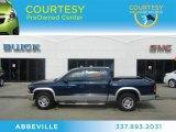 2004 Patriot Blue Pearl Dodge Dakota SLT Quad Cab #63384440