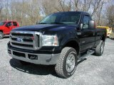 2005 Black Ford F350 Super Duty XLT Regular Cab 4x4 #63384435