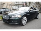 2011 Botanical Green Metallic Jaguar XJ XJL Supercharged #63383743
