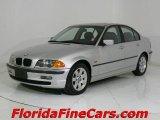 2001 Titanium Silver Metallic BMW 3 Series 325i Sedan #544049