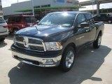 2012 True Blue Pearl Dodge Ram 1500 Lone Star Crew Cab 4x4 #63384122