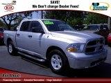 2009 Bright Silver Metallic Dodge Ram 1500 SLT Crew Cab #63384379