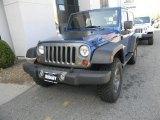 2010 Deep Water Blue Pearl Jeep Wrangler Sport Mountain Edition 4x4 #63384063