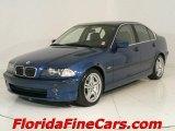 2001 Topaz Blue Metallic BMW 3 Series 330i Sedan #544046
