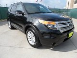 2011 Tuxedo Black Metallic Ford Explorer XLT #63384016